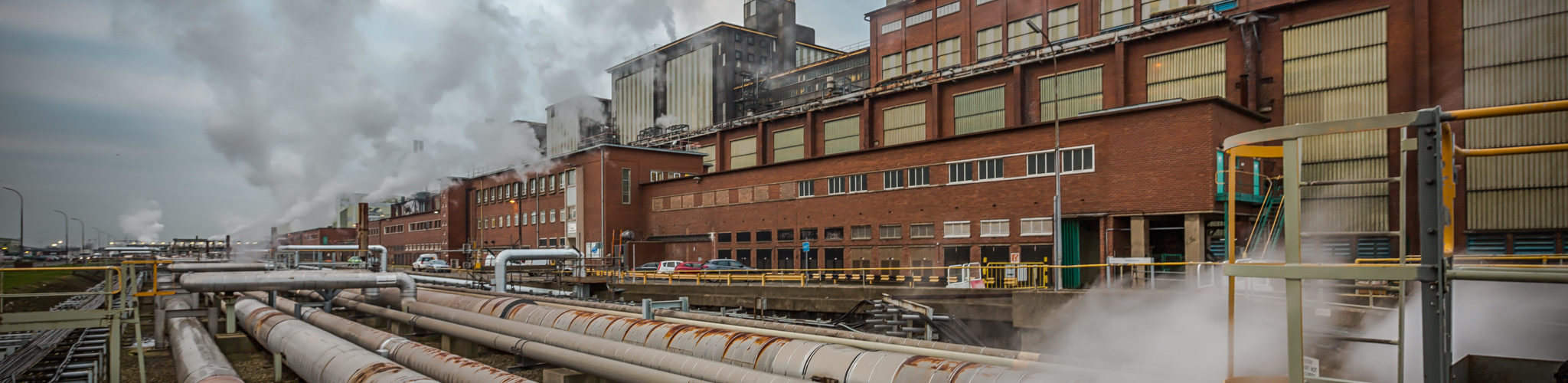 External view of the power station in 2017