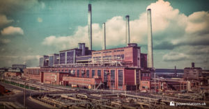Archive image of Wilton Power Station taken in 1960s