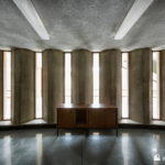 Concrete and light - windows in the power station library