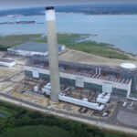 Aerial view of Fawley Power Station