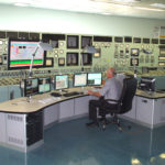 The control room was used after Fawley's closure to remote control various other power stations
