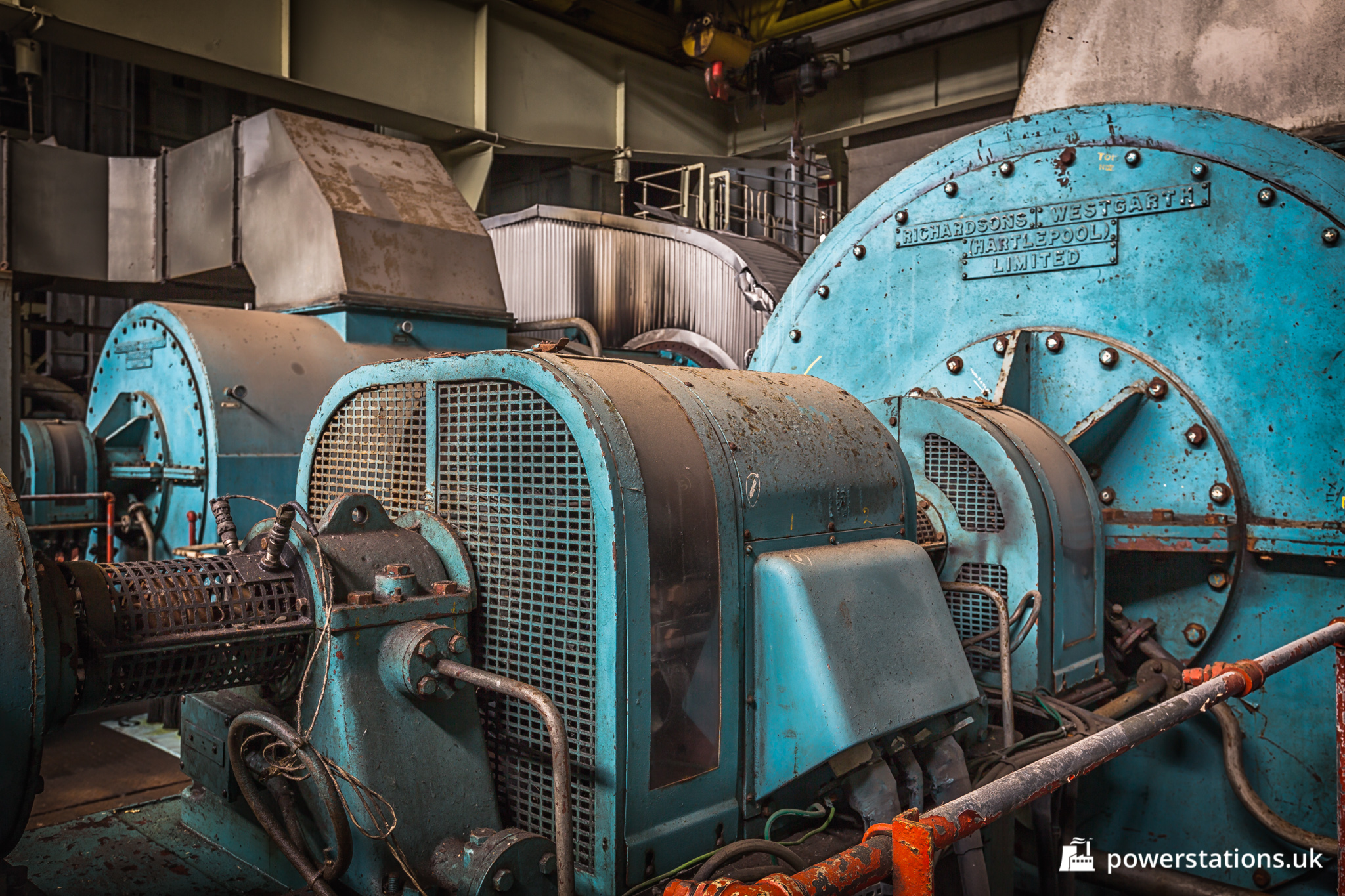 Fawley Power Station – Turbines – Power Stations of the UK