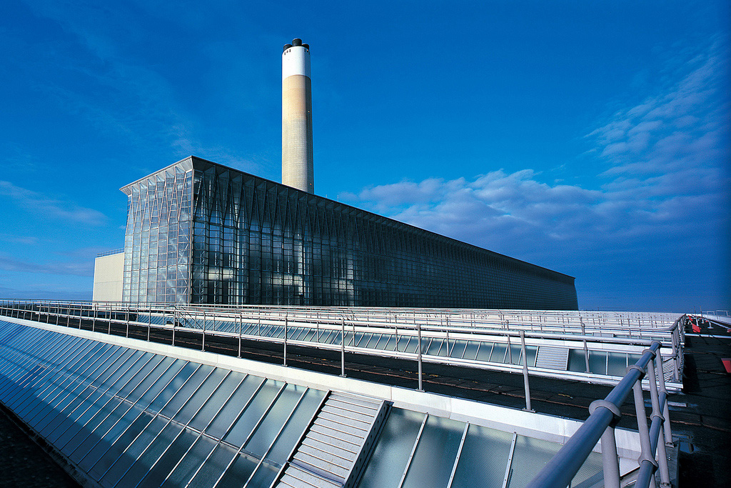 Fawley Power Station - Marine grade glass clad boiler house