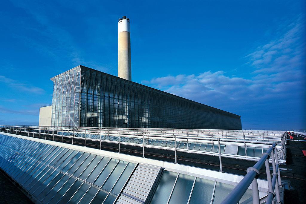 Fawley Power Station - Marine grade glass clad boiler house