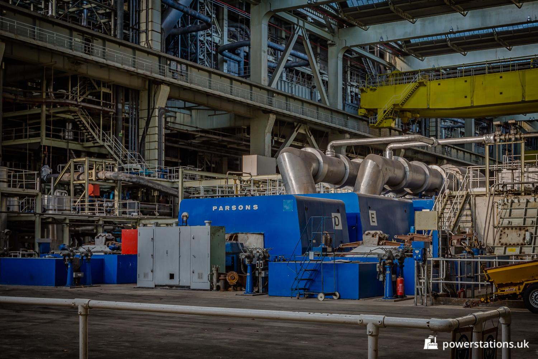 Fawley Power Station  U2013 Turbines  U2013 Power Stations Of The Uk