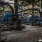 Circulating water feed pumps