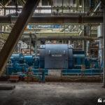 Circulating water feed pump