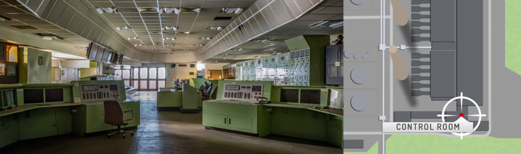 Tilbury B Power Station Control Room