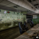 Control room with the 11Kv board at the back