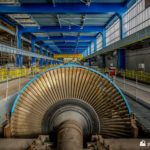 Unit 7 LP turbine blades