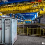 Gauge cluster in turbine hall