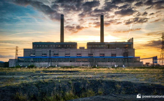 Tilbury Power Station External