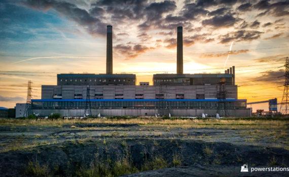 Tilbury Power Station External