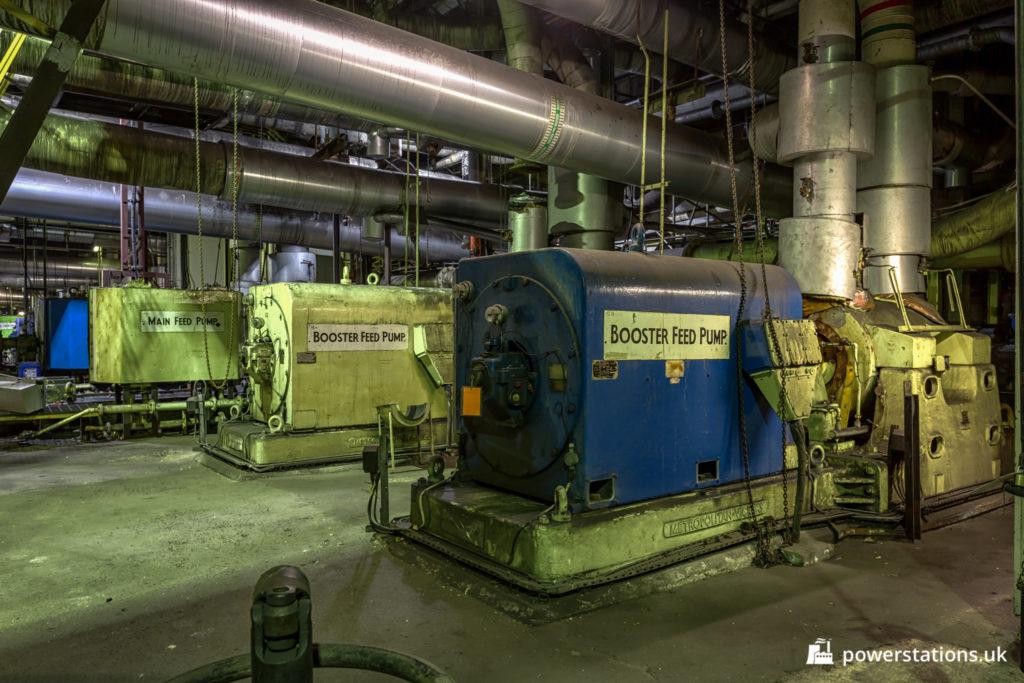 Metropolitan-Vickers Boiler Feed Pumps