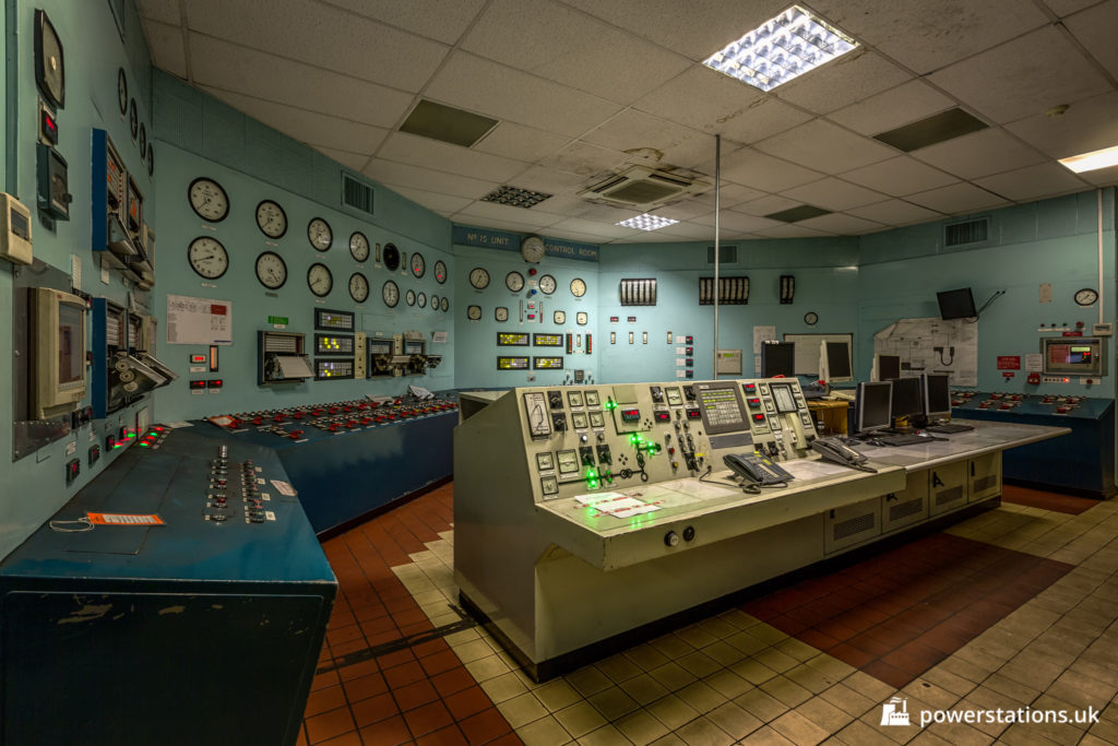Uskmouth Unit 15 Control Room