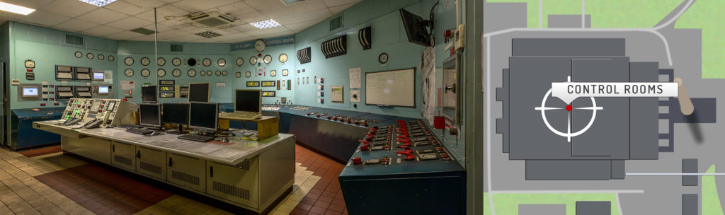 Uskmouth B Power Station Control Room