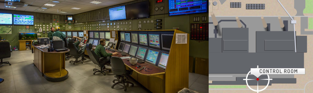 Wilton Power Station Control Rooms