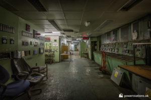 Boiler control room