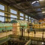 Metro-Vic sets in turbine hall