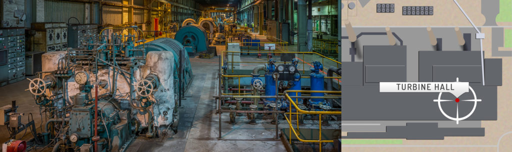 Wilton Power Station Turbine Hall