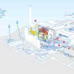 Diagram of Littlebrook D (after unit 3 decommissioning)