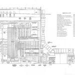 Section through boiler