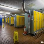 Contractor locker room