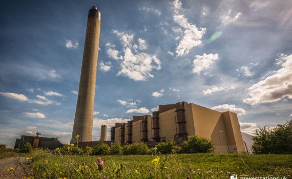 Littlebrook D Power Station exterior