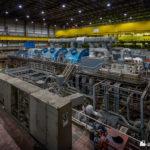 Unit 2 turbine and generator