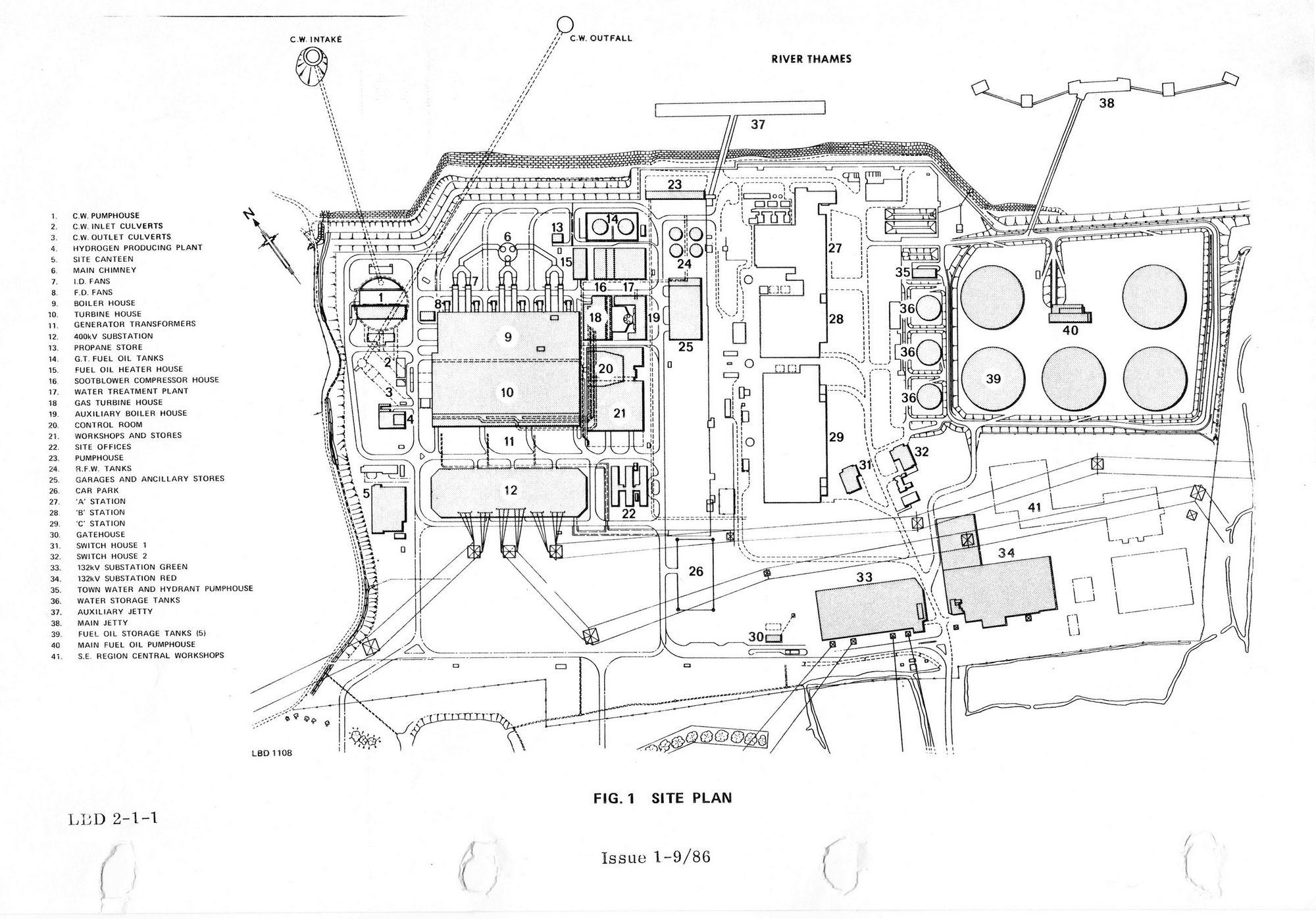 littlebrook d power station  dartford  kent  u2013 power