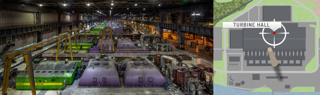 Longannet Power Station Turbine Hall