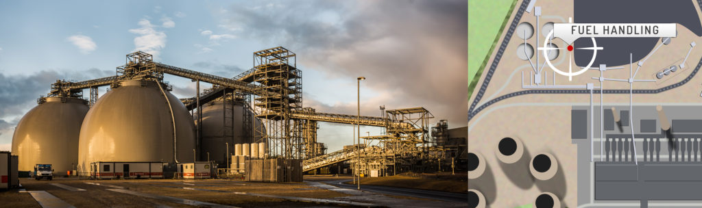 Drax Power Station Biomass and Coal Handling