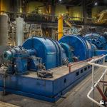 Unit 6 exciter and generator