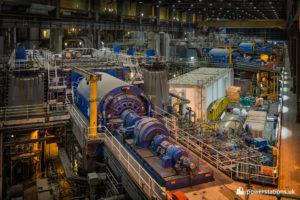 Drax turbine hall - Units 3-6