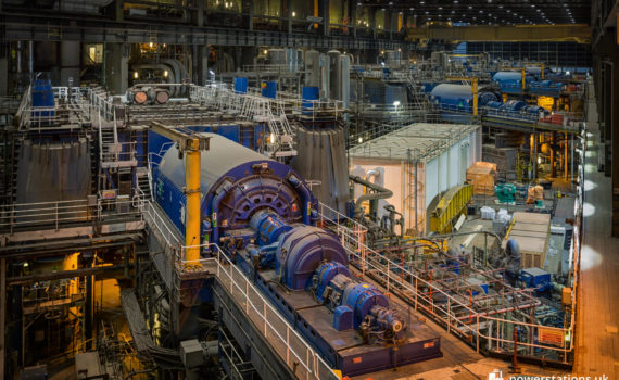 Drax turbine hall - Units 3-6