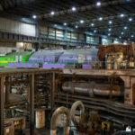 Unit 2 HP line turbines