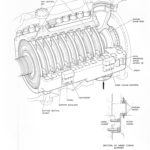 Diagram of high-pressure (HP) cylinder
