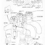 Diagram of high-pressure (HP) steam chest
