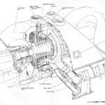Diagram of intermediate-pressure (IP) cylinder