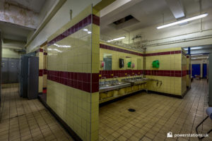 Bathhouse wash facilities