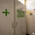 Emergency first aid locker