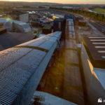 Coal plant conveyors