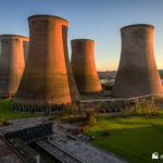 The four cooling towers