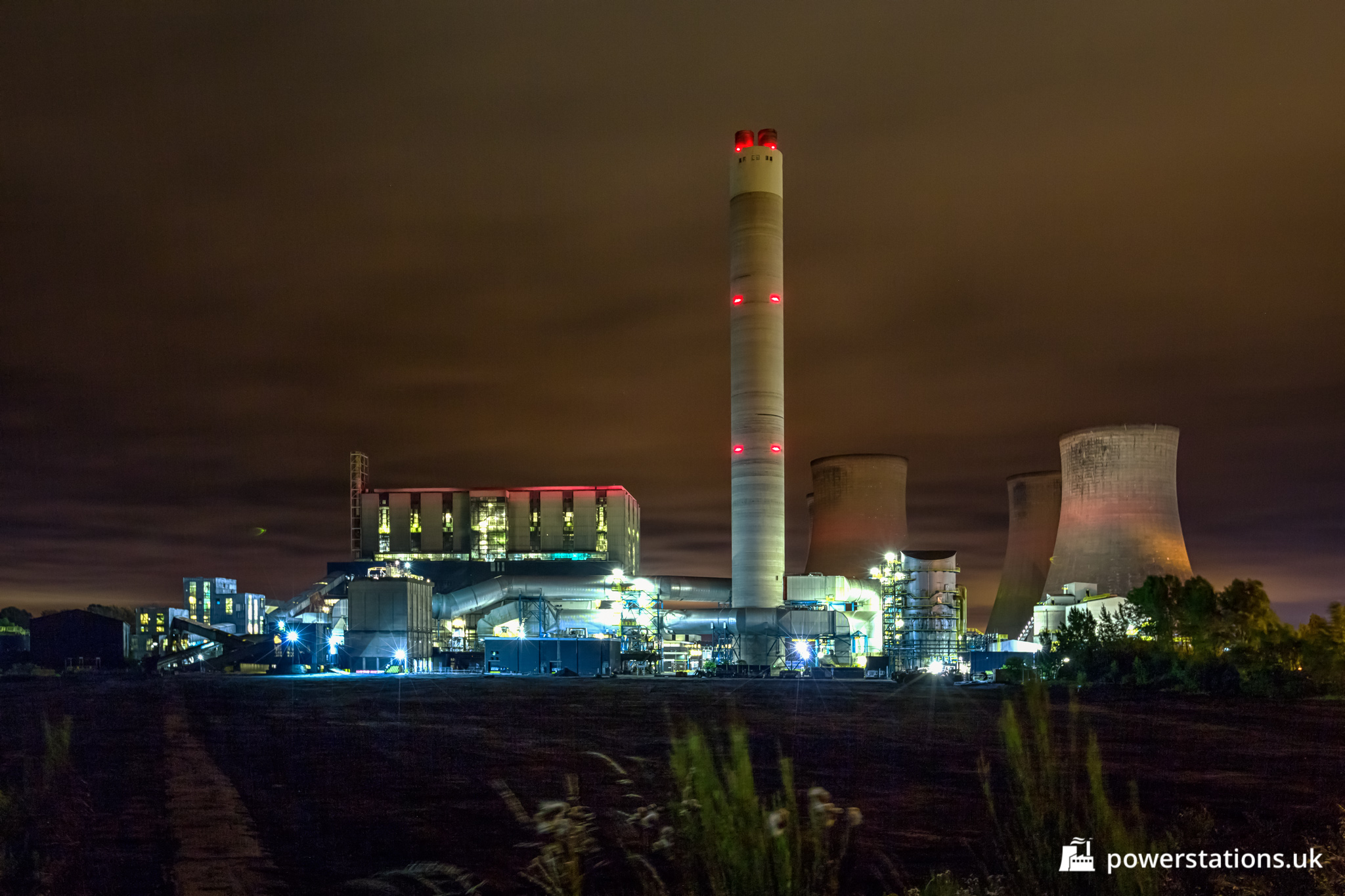 Rugeley B Power Station  Staffordshire  U2013 Power Stations Of