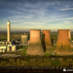 Rugeley B power station and cooling towers