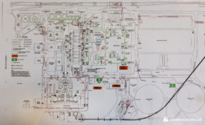 Rugeley B Power Station Layout