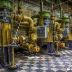 Unit 6 generator transformer oil coolers