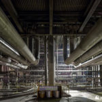 Pipes in the boiler house