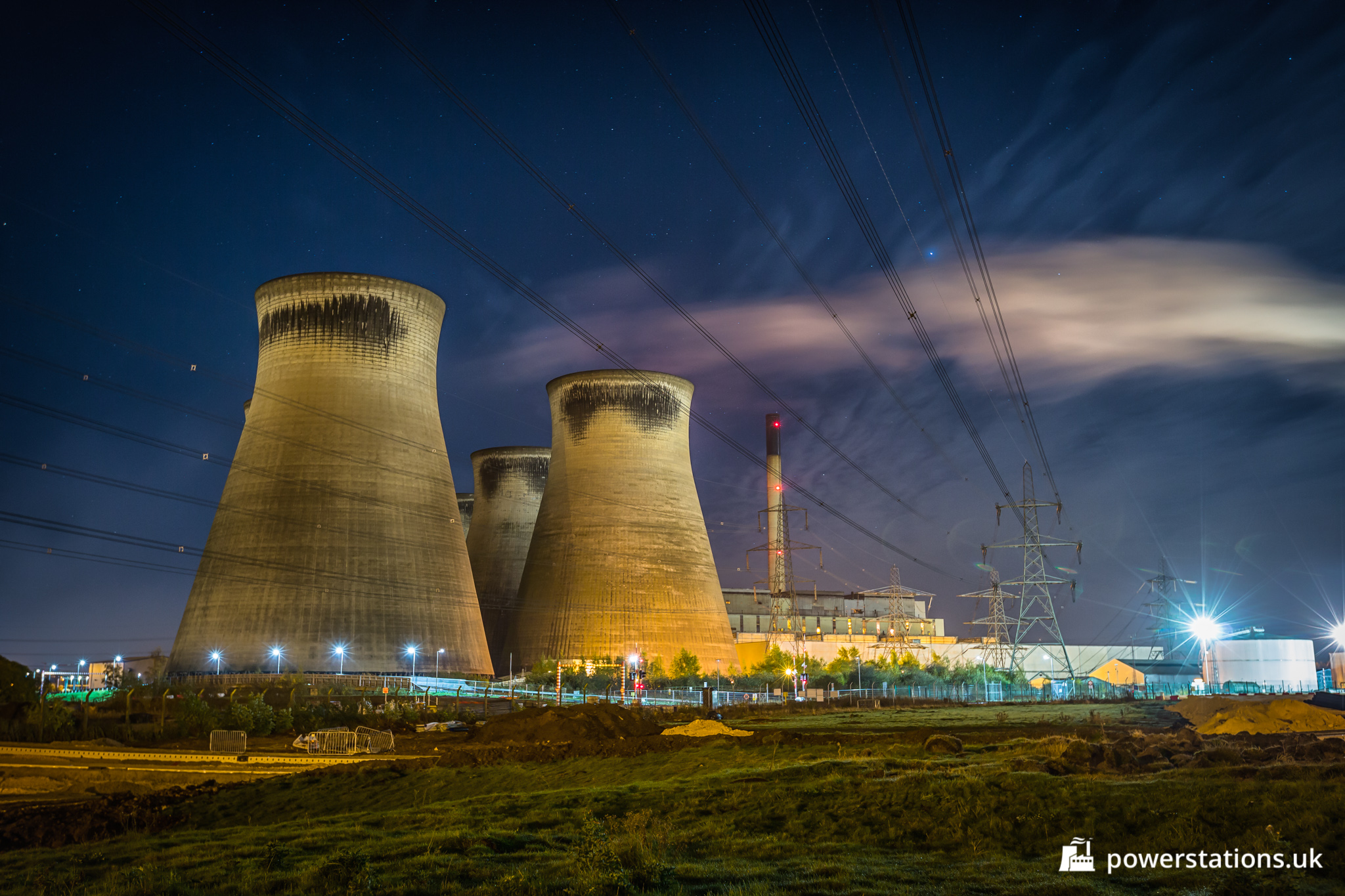 Ferrybridge C Power Station, West Yorkshire – Power Stations