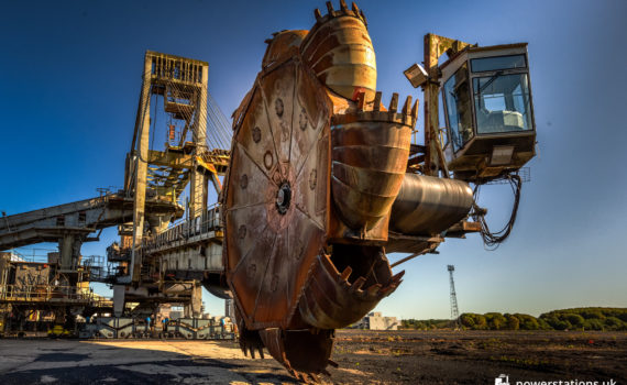 Bucket Wheel Excavator / Giant Boom Stacker
